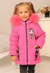 Зимняя куртка для девочки «Кукла»