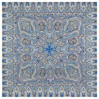 "Платок из вискозы ""Фергана"", вид 14, 135х135 см Рисунок 1856-14"