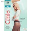 Колготки женские CONTE ELEGANT TOP 40 den, цвет натуральный (natural), размер 2