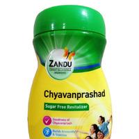 Чаванпраш без сахара, 450 г, производитель Занду; Chyavanprashad Sugar Free Revitalizer, 450 g, Zandu