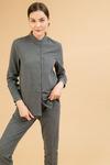 Блузка с воротником стойка B2370/brava
