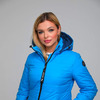 Куртка женская демисезонная ДМВ-01 голубой