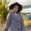 """Демисезонное пальто для девочки """"VPD-8"""""""