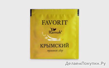 """Чай пакетир. КРЫМСКИЙ на чашку """"RAMUK"""" 200*1,5гх в конв. м/у фольга"""
