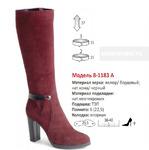 Сапоги Модель 8-1183 А (зима)