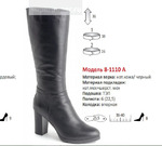 Сапоги Модель 8-1110 А (зима)