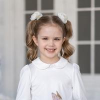 Джил блузка трикотажная (Алолика), размер 146, белый