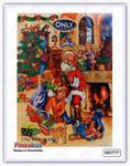 Шоколадный календарь ONLY Санта Клаус 75 гр