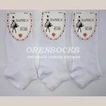 Носки женские ЛАРИСА все белые с медицинской резинка арт.: 365 Упаковка 12 пар