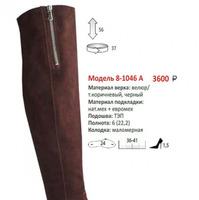 Сапоги женские 8-1046а(зима)