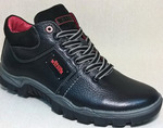 Ботинки на байке - размер 40, натуральная кожа