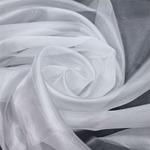 Однотонная микровуаль BRILLIANT Белый 295 см