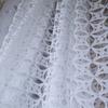 Органза жаккард JH1717 белый 280 см