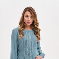 940303-3 Блузка длинный рукав, размер 44-52