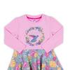 Платье длинный рукав для девочки ZG-14138-PM1