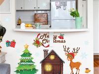 Интерьерная многоразовая наклейка «Рождественская история»