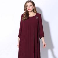 Платье Lenata Артикул: 11078 бордо