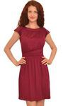 1262 Платье Гранатовый