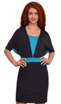 1169 Платье Черно-синий