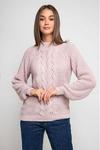 Вязаный свитер «Ника» с люрексом