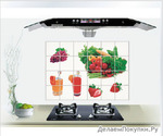 Термостойкие наклейки для кухни