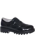 Туфли закрытые для девочек БОЛЕРО D13288 черн