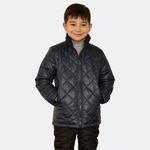 Куртка демисезонная для мальчика, модель Д25 цвет темно-синий/cire, рост 122-158