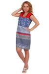 Платье П-073 (кулирка)