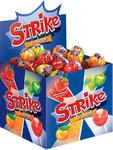 *Карамель на палочке Strike фруктовое ассорти, ряды