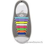 Ленивые шнурки (набор 8 штук)