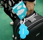Обложка на паспорт+бирка на чемодан Облака