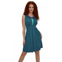 1202 Платье Изумрудный + мятный