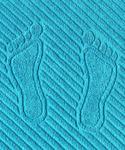 Коврик махровый для ног Размер50x70