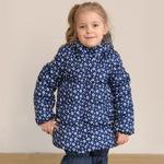 СКИДКА Куртка демисезонная для девочки, модель Д002н, цвет круги