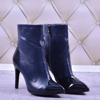 Женские комбинированные ботинки (байка/экомех/цигейка - на выбор)