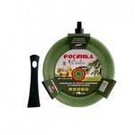 Сковорода РОСИНКА 52-26 серия Олива 26см гранит крош со съёмной руч глуб