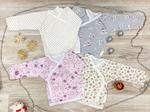 Распашонка «кимоно» для новорожденного (артикул 20-32)