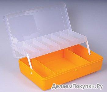 Коробка для мелочей с лифтом Т-05-05-04 24х15х6, 5см