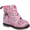 Ботинки деми для девочек FLAMINGO 82B-BNP-0959 черн/роз