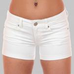 Белые котоновые шортики Модель – кошачья грация! Чтоб лишь бы в чём не ходить, надо шортики купить! №ш2