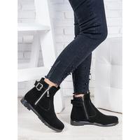 Ботинки замшевые Амалия
