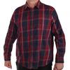 Классика британского стиля – мужская клетчатая рубашка BPC. Динамичный дизайн, натуральный хлопок, ХИТ-цена №136