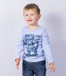Джемпер для мальчика с принтом (арт. 10-331)