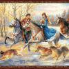Набор для вышивания РИОЛИС арт.1639 Русская охота 60х40 см