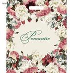 """Пакет """"Благородные цветы"""", полиэтиленовый с вырубной ручкой, 45х38 см, 60 мкм"""