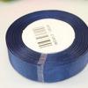 Репсовая однотонная (темно-синий) 25мм * 20 ярдов (+-1м)  C190/240