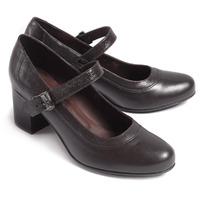 Туфли летние женские, натуральная кожа, коричневые