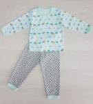 Пижама для мальчика КР24-1 бирюзовый+серый