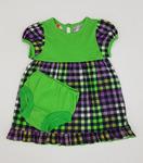 Платье + трусы под памперс КР18-8 зеленый