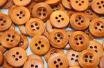 Пуговицы деревянные 15мм, упак. 50гр (120-130 шт) M128/78